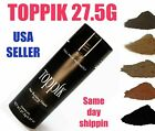 TOPPIK Hair Loss Building Fiber 27.5 g Black Dark Medium Light Brown UNISEX $10.99 USD on eBay