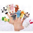 US Ship Animal Finger Puppet Kids Doll Toys Game Children Family Talking Story