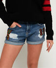 Superdry Womens Steph Boyfriend Shorts <br/> RRP £39.99 - BUY FROM THE OFFICIAL SUPERDRY EBAY STORE