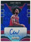 COBY WHITE 2019/20 PANINI PRIZM RC ROOKIE BLUE SHIMMER AUTOGRAPH BULLS AUTO SP on eBay