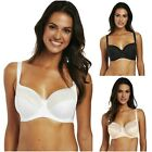 Fantasie Illusion Bra 2982 Underwired Side Support Non padded Black White, Beige