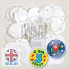 Badge Making Kit Children Party Bag Accessory Arts Crafts  School With 2 Inserts