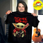 Star Wars My Chemical Romance Guitar Signatures Yoda T-Shirt Black cotton S-3XL $13.99 USD on eBay