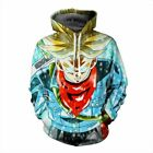 New Fashion 3D Men Women's Unisex Hoodie Sweater Sweatshirt Jacket Graphic Tops