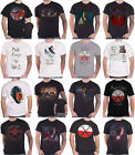 Official Pink Floyd T Shirt The Wall Roger Waters Hammers Scream Logo new Mens