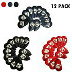 Golf Head Covers PU Leather 12 PCS Iron Club Putter Double-sided Embroidery AU