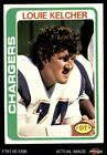 1978 Topps #360 Louie Kelcher Chargers SMU 6 - EX/MT $1.0 USD on eBay