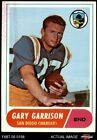 1968 Topps #36 Gary Garrison Chargers San Diego St 4 - VG/EX $1.0 USD on eBay
