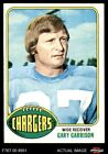 1976 Topps #95 Gary Garrison Chargers San Diego St 5 - EX $0.99 USD on eBay