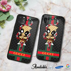 Case Fit iPhone 6 8 X XR XS Guccy40rCases 11 Pro Max/Samsung Galaxy S10Deadpool