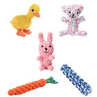 1PC Pet Dog Safety Toy Bite-Resistant Soft Puppy Chew Toys Cotton For Small Dogs