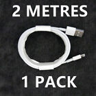 iPhone Apple Lightning To USB Cable 1M 2M Lightning Charger Lead Data Sync Cable