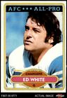 1980 Topps #190 Ed White - All-Pro Chargers California 6 - EX/MT $2.2 USD on eBay