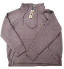 Green Tea Women-Owned Quilt Pullover Sweatshirt Top Various Colors & Sizes