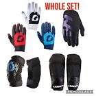FULL SET of Sixsixone Youth Comp Gloves, Knee Guards And Elbow Guards Lot •NEW•