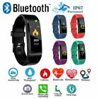 Smart Fitness Watch Bluetooth Heart Rate Pressure Sports Fitbit Activity Tracker