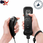 Built in Motion Plus Remote Nunchuck Controller  Case for Nintendo Wii  Wii U