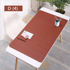 Large Mouse Pad Gamer Waterproof PU Leather Suede Desk Mat Computer Mousepad