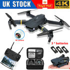 Drone X Pro WIFI FPV 4K HD Camera 3Batteries Foldable Selfie RC Quadcopter UK