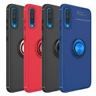 For Samsung Galaxy A50 A20 Shockproof Slim Armor Case Cover W/Ring Holder Stand $12.92 USD on eBay
