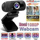 1080P Full HD USB Webcam Web Camera with Microphone for PC Desktop  Laptop BEST