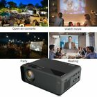 1080P HD Projector Portable LED 3D Movie Home Theater Cinema Wifi USB Game TV PC