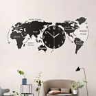 1PC Good Quality Creative World Map Acrylic Wall Decoration for Living Room