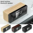 USB Smart Wireless Bluetooth 5.0 Speaker Portable Mini Alarm Clock Multifunction