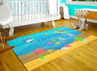 Personalized Nursery Rug Custom Kids Bedroom Carpet Sea Area Rugs Playroom Mat
