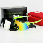 100% Goggles Cycling Glasses Half Frame Sports Windproof Dazzling