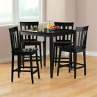 5-Piece Mission Counter-Height Dining Set