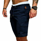 Men's Summer Shorts Sports Work Casual Army Combat Cargo Short Pants Trousers