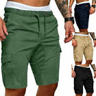Mens Summer Shorts Sports Work Casual Army Combat Cargo Short Pants Trousers