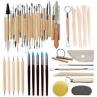 Clay Tool Sculpting Kit 30pcs Set Artist Wooden Pottery Accessories Reliable image