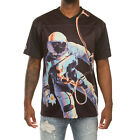 Billionaire Boys Club Men's Universe SS Knit T-Shirt In Two Colors Graphic Tee