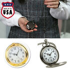 Men's Classic Steampunk Pocket Watch Analog Quartz Pendant Necklace Gift USA  image