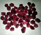 RARE LOT  Red Ruby Natural Mozambique Gemstone Mineral UNHEATED Rough Free Ship