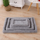 Pet Dog Cage Mat Pad Crate Mattress Kennel Cushion Carrier Bed Washable Non Slip