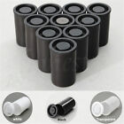 10pcs Plastic Empty Black/White Bottle 35mm Film Cans Canisters Containers