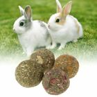 1pcs Pet Teeth Grinding Ball Natural Grass Toys For Guniea Pig Rabbit I5K7
