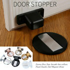 Suction Door Stops Invisible Anti-collision Punch Stainless Steel Magnetic Homes