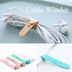 Holder Silicone USB Wire Tie Cord Clip Earphone Cable Ptotector Cable Winder
