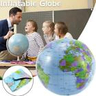 30cm Inflatable Globe Map Ball World Earth Geography Blow-Up Atlas Education Toy