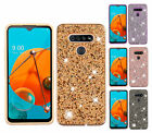 For LG K51 - Diamond ShockProof Dual Layer Rugged Hybrid Cover Case