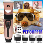 Low Noise Cordless Pet Shaver Clipper Hair Dog Electric Trimming Grooming