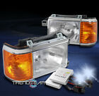 FOR 87-91 FORD BRONCO F-150 F-250 F-350 PICKUP REPLACEMENT HEADLIGHT W/8000K HID