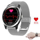 Touch Screen Smart Watch Heart Rate Monitor ECG+PPG Watch for iPhone Samsung J8 Featured for heart iphone monitor rate samsung screen smart touch watch
