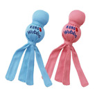 KONG - Wubba Puppy - Nylon Tug of War Dog Toy - For Small Puppy Blue or Pink