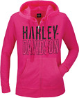 Harley-Davidson Women's H-D Stacked Dyed Hooded Sweatshirt R003588 $56.5 USD on eBay