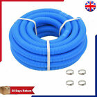 Pool Hose Blue Cleaner Vacuum Pipe for Filter Pumps with/without Clamps LDPE